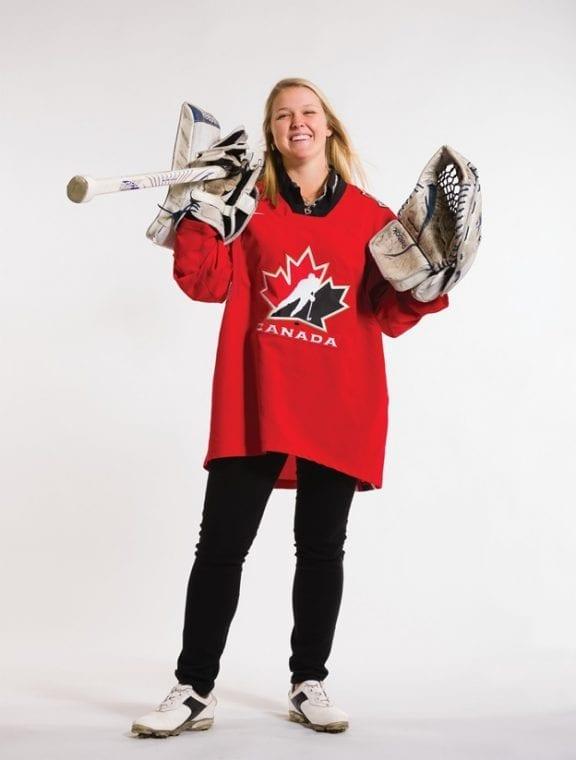 Brooke Henderson Hockey