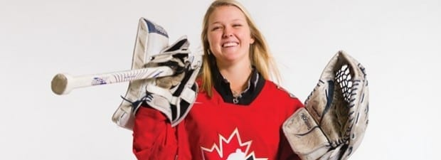 Brooke Henderson Hockey