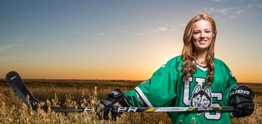 Kaitlin Willoughby Saskatchewan Huskies