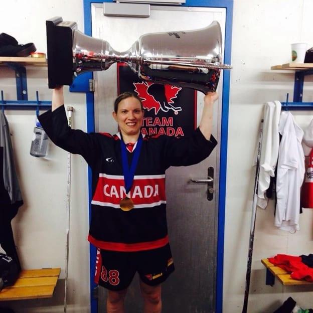 Silvia Traversa Team Canada