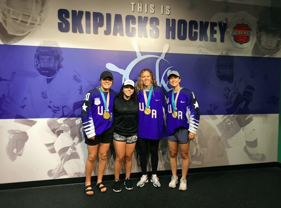Anabella Gatto US Women's Olympians Hockey