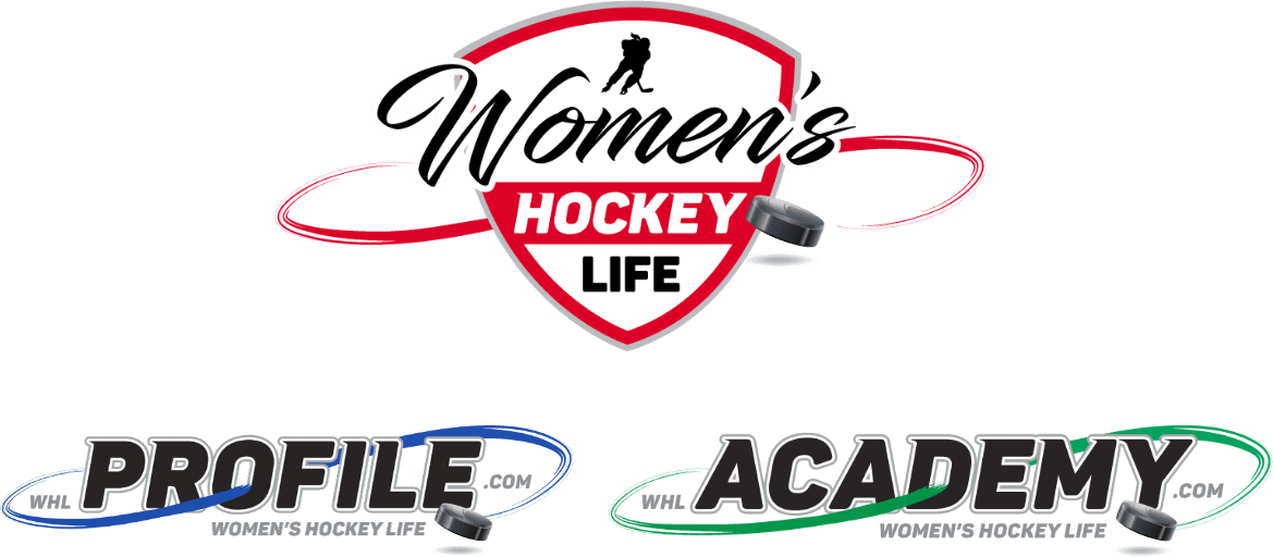Women's Hockey Life, Profile, & Academy logos