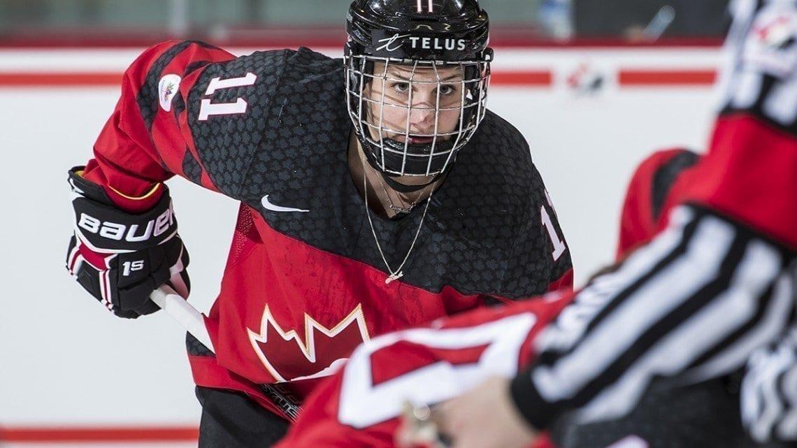 Jillian Saulnier Hockey Canada