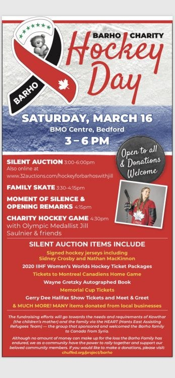 Hockey Day in Barho Jillian Saulnier
