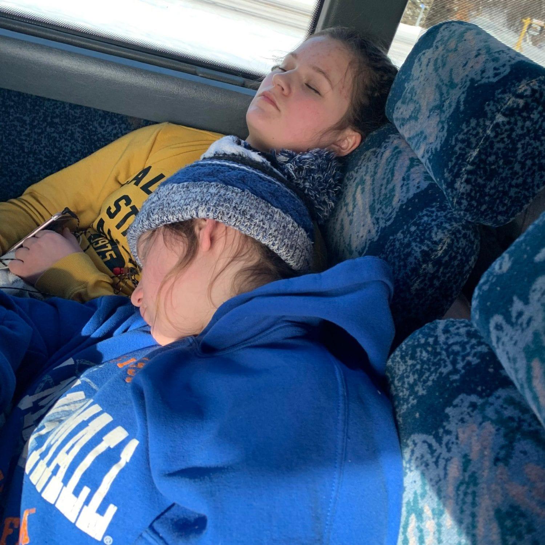 Hockey bus trip