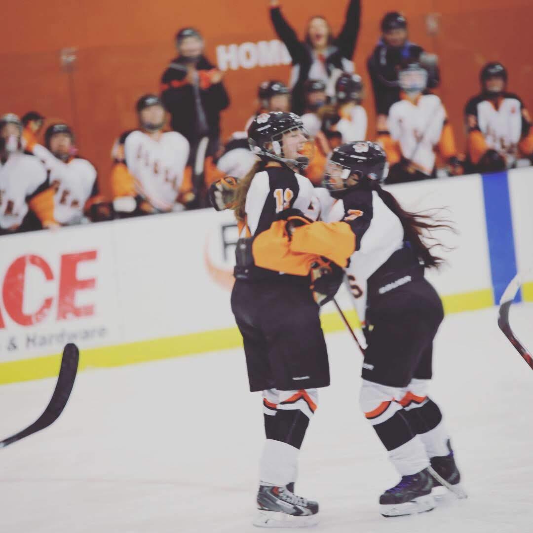 Cassi Weiss hockey coach