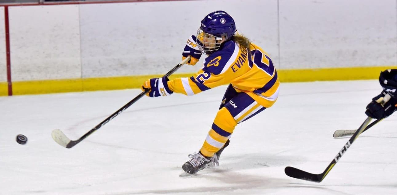 f95f50baf408 NCAA D3  Maddie Evangelous - Elmira Soaring Eagles - Women s Hockey Life