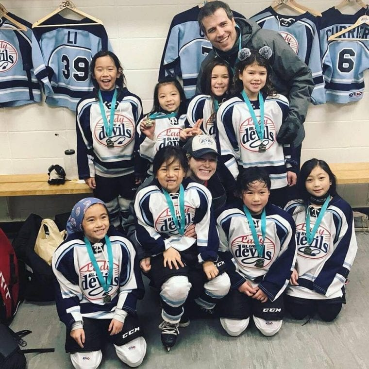 Megan Brettingen Women's Hockey Life Ambassador Dublin California