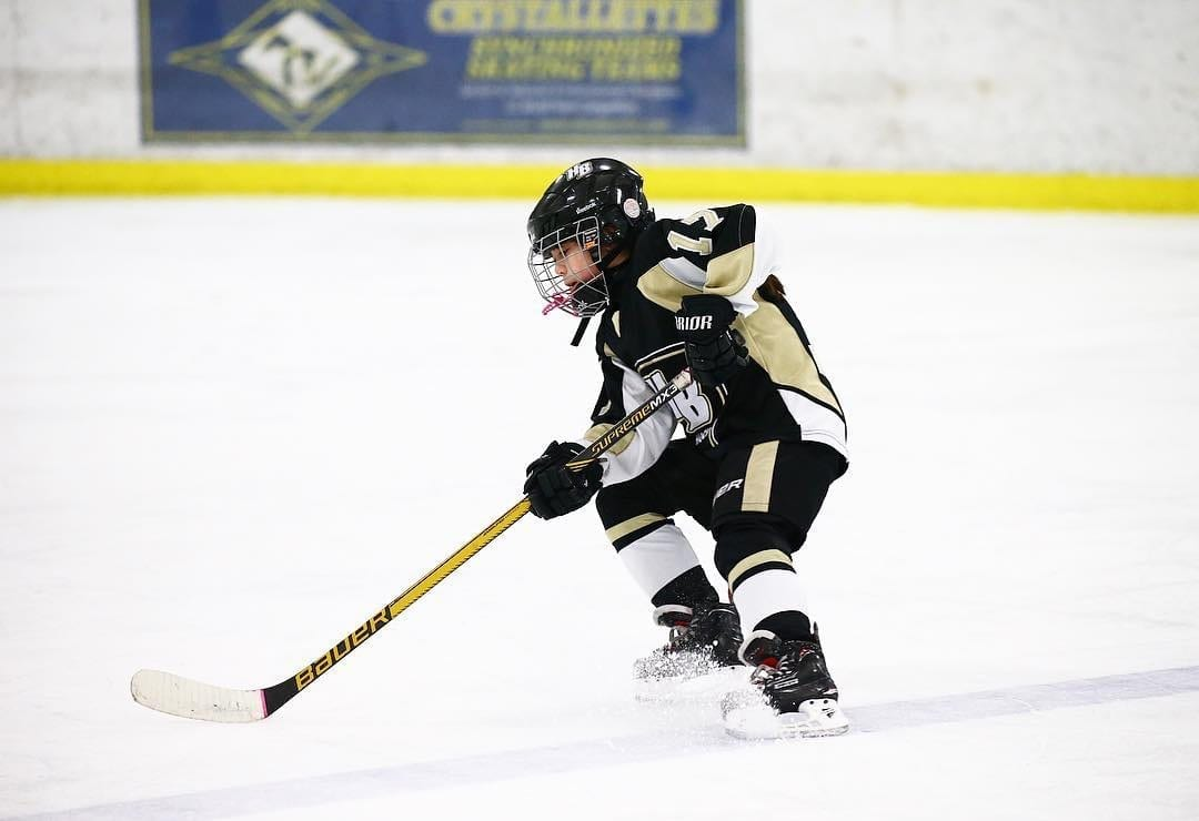 Women's Hockey Life Ambassador Audrey Barretto Michigan