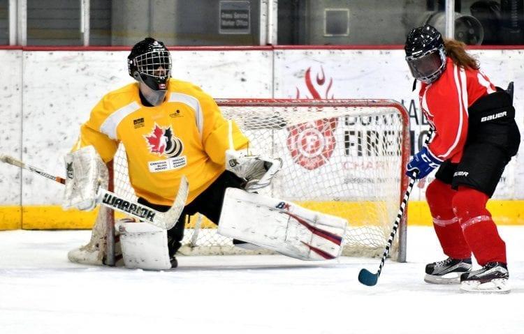 Amanda Provan blind hockey