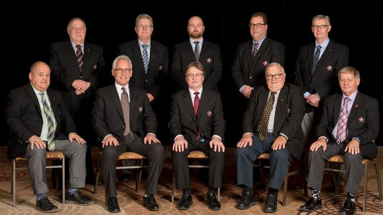 Hockey Canada board of directors