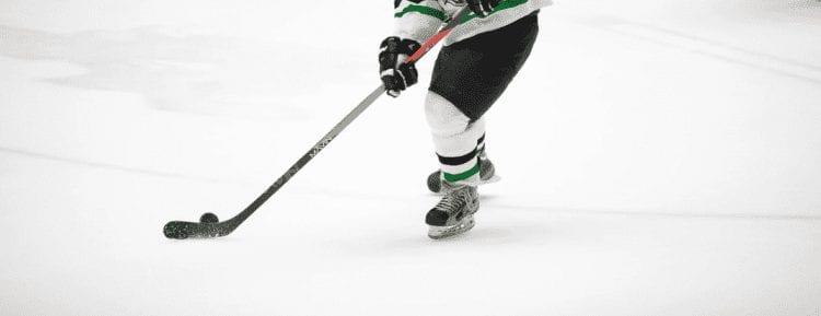 first hockey goal