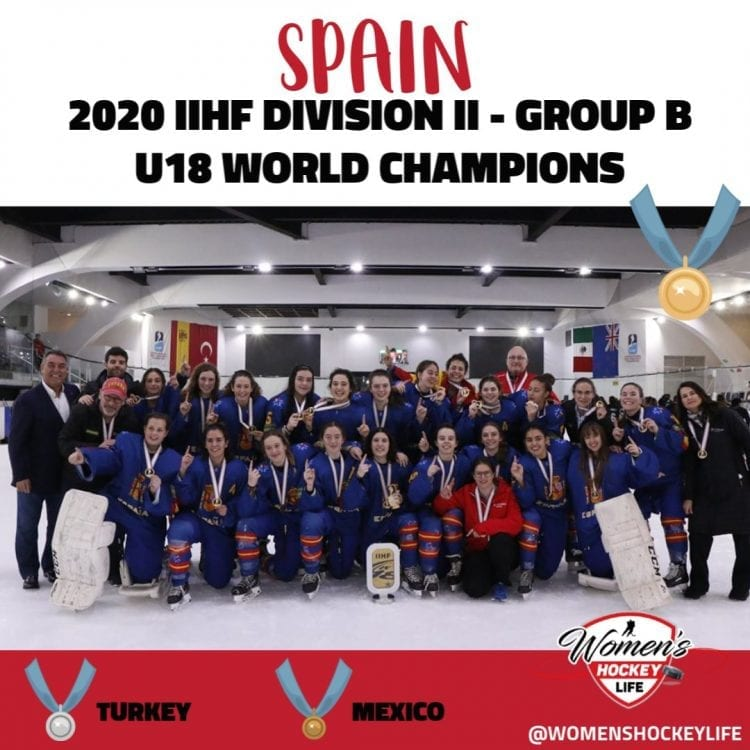 Spain IIHF