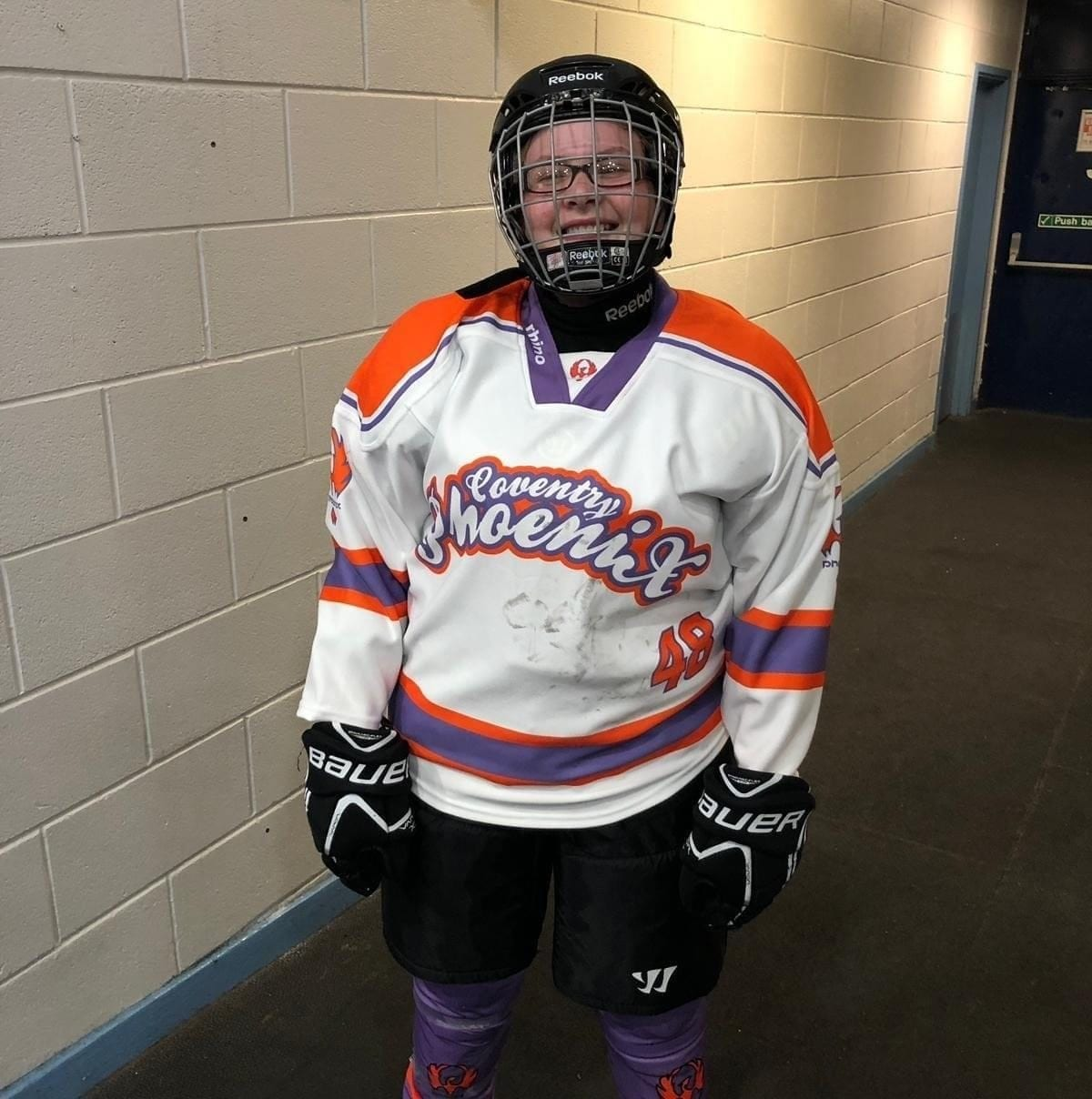 Maddie Stevens Coventry Hockey
